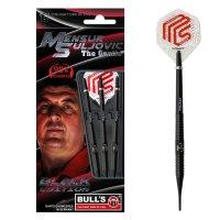 BULLS Champions Mensur Suljovic Black-Edition Soft Dart 18g