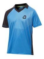 andro Shirt Campell blau/schwarz