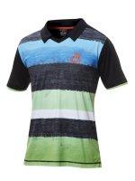 andro Shirt Devlin schwarz/grün