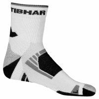 Tibhar Socken TECH weiß/schwarz