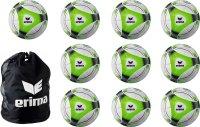 10er BALLPAKET ERIMA Hybrid Training Gr. 5 inkl. Ballnetz