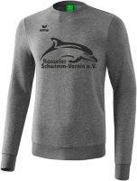 Erima Sweatshirt Logo groß Kasseler Schwimm-Verein