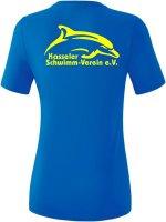 Erima TEAMSPORT T-Shirt Damen Kasseler Schwimm-Verein