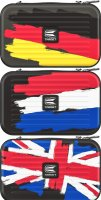 Takoma XL Wallet GB Flag Limited
